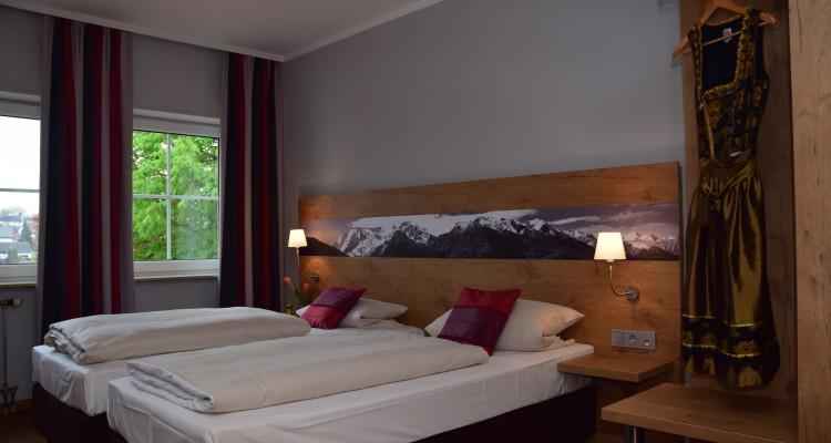Doppelzimmer-Einzelbetten